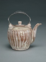 Teapot with Wire Handle