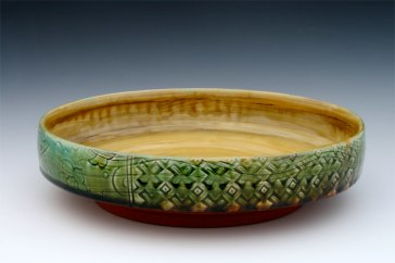 Emerald Serving Bowl