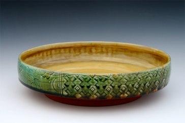 Emerald Serving Bowl