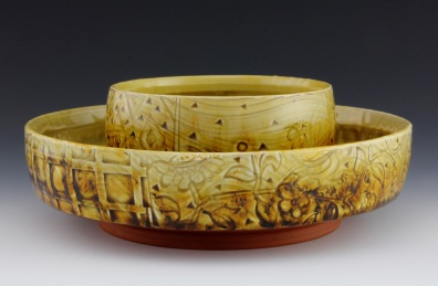 Amber Stacking Bowl Set