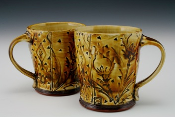 Thistle cups with Iron
