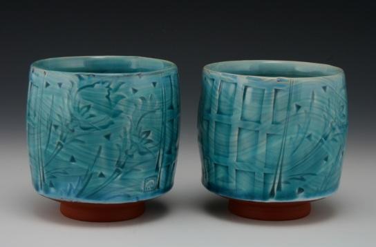 Copper Blue Yunomi