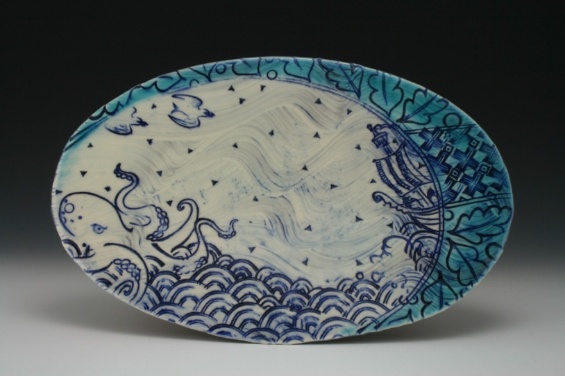 Leviathan Oval Plate