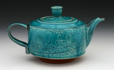 Straight sided Teapot