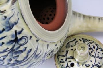 Persian Vine Teapot Detail